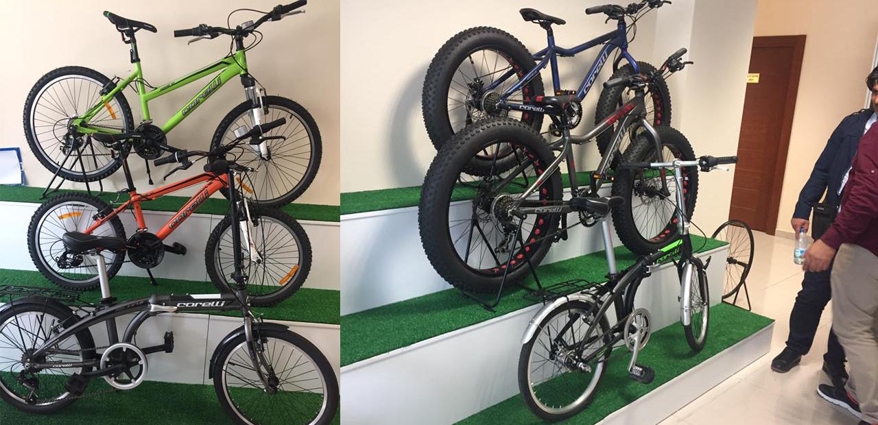 Corelli Bisiklet Fabrika Ziyareti